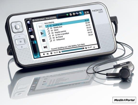 Интернет-планшет Nokia N800