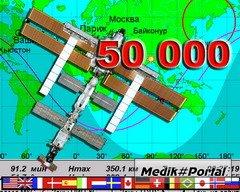 МКС: 50 000 витков вокруг Земли