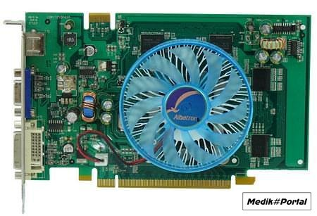 Albatron GeForce 8500GT Ultra +, вероятно, самая быстрая из всех GeForce 8500GT