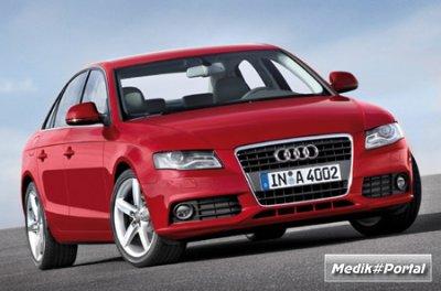 Первые фотогафии новой Audi A4