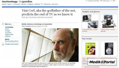 Основатель Интернета предсказывает конец ТВ