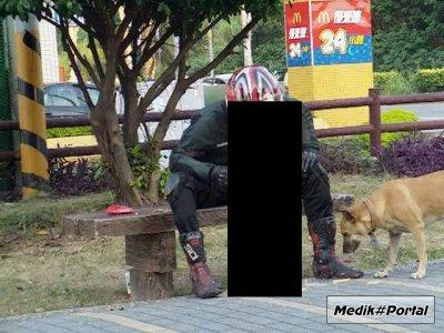 Опасности при езде на мотоцикле (1 фото)