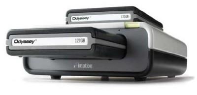 """Сменные HDD-картриджи для Imation Odyssey """"потолстели"""" до 160 Гб"""