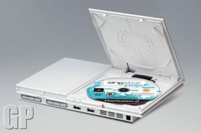 Бледная PS2 с караоке