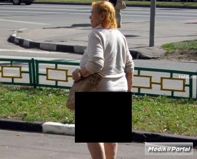 Это склероз или новая мода у бабулек? (2 фото)