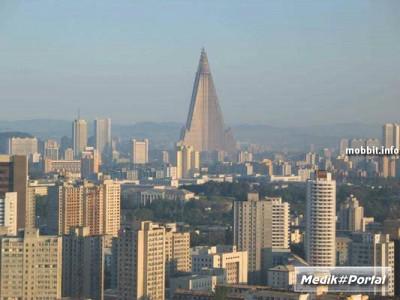 Недостроенная гостиница Ryugyong в Северной Корее – потенциально самая высокая в мире