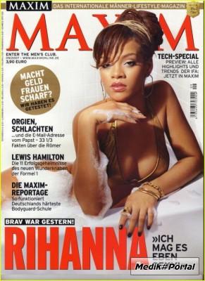 Rihanna в журнале Maxim