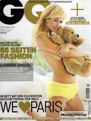 Paris Hilton in GQ (7 фото)