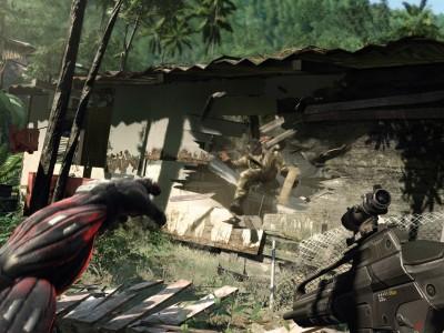 Взрывы в Crysis