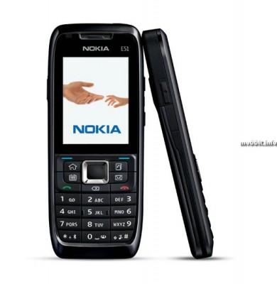Бизнес-смартфон Nokia E51 объявлен официально