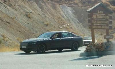 Появились шпионские фото BMW 7 Series 2009