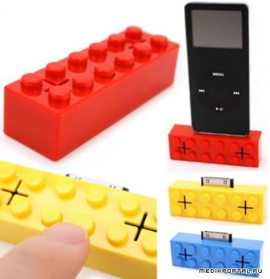 iPod док-станция в стиле Lego