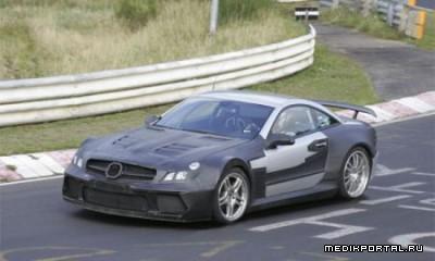 Появились шпионские фото Mercedes-Benz SL Black Series