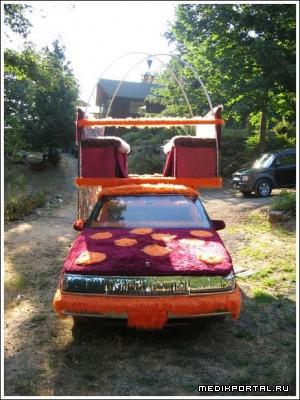 Машина в стиле диско (5 фото)