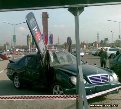 Не болтайте за рулем (4 фотографии)