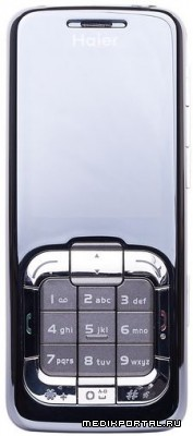 Сверкающий телефон Haier M66 Kosmо Pearl