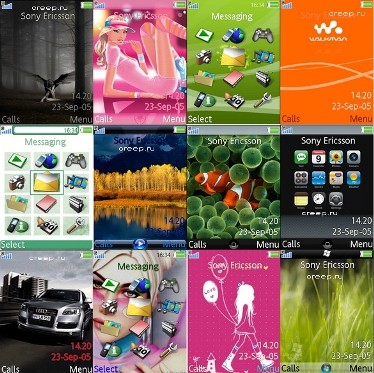 Themes for Sony Ericsson W850-K800