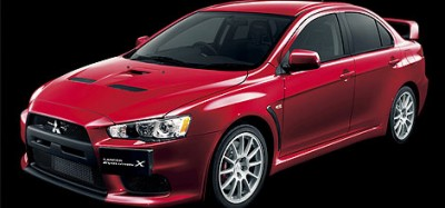 Mitsubishi выкатил Lancer Evo X