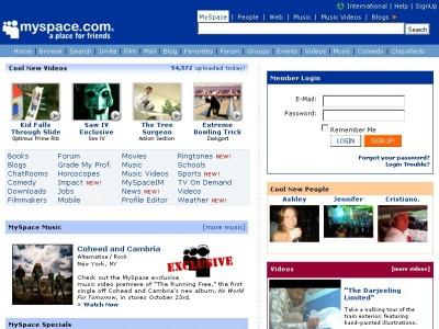 Myspace пока что зондирует почву в России