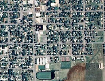 Город Грингсбург до и после наводнения (2 фото)