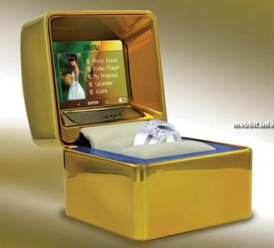 Оригинальная подарочная коробочка для кольца