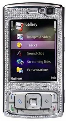 Nokia N95 предпочитает бриллианты