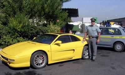 В Риме обнаружен контрафактный автомобиль Ferrari