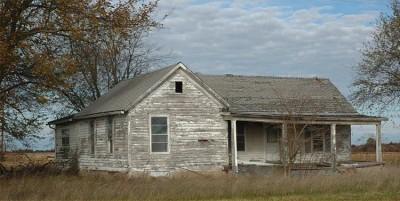 Старые домики!