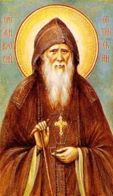 Скорби и искушения. Поучения преподобного Амвросия Оптинского.
