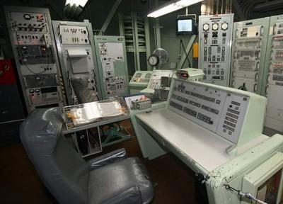 Пульт запуска ядерных ракет. США (16 фото)