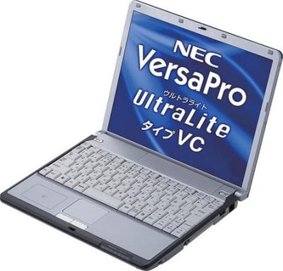 Ноутбук от NEC работает 14,5 часов без подзарядки