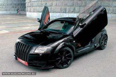 Обитель зла. Тюнинг Audi TT (6 фото)