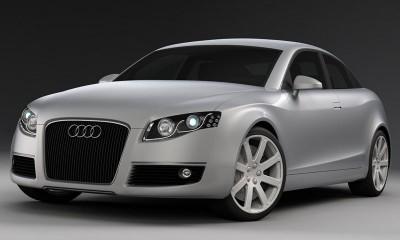 Audi A7 выходит на большу дорогу