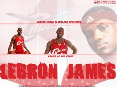 LeBron James биография.