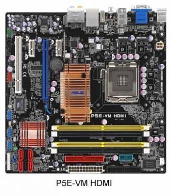 ASUS P5E-VM HDMI – системная плата для любителей Full HD-качества