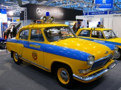 Старые и новые машины ГАИ (ГИБДД)