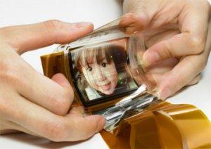 Гибкие цветные OLED-экраны от Sony