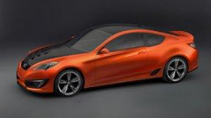 Hyundai представила новое купе на базе концепта Genesis
