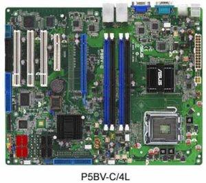 ASUS P5BV-C/4L: для серверов на 45-нм Intel Xeon