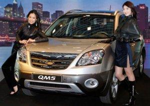 В Корее представили свою версию кроссовера Renault Koleos