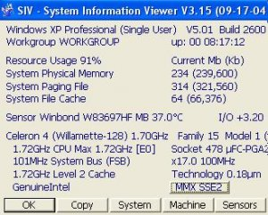 System Information Viewer (SIV) 3.34