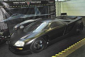 В Лос-Анджелесе представлен суперкар Vector Avtech WX8