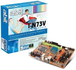 abit I-N73V: mATX плата для процессоров Penryn