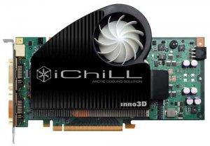 Inno3D 8800 GT iChill: фабричный разгон + оригинальный кулер