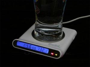 USB-нагреватель с часами и концентратором