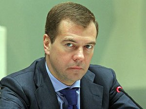 Дмитрий Медведев выдвинут в президенты России