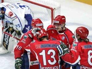Сборная России победила Финляндию на Кубке Первого канала