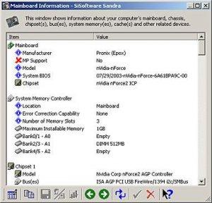 SiSoftware Sandra XII 2008 SP1 Lite (13.12)