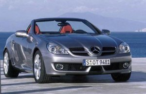 Редизайн Mercedes-Benz SLK 2008 года