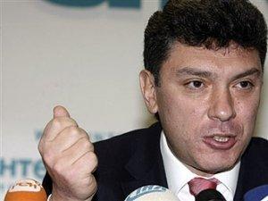 Борис Немцов отказался от участия в президентских выборах